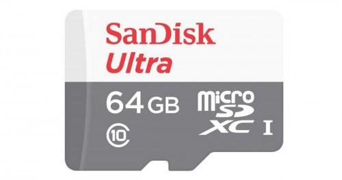 Promocja na SANDISK Ultra microSDXC 64GB 80MB 10 UHS-I