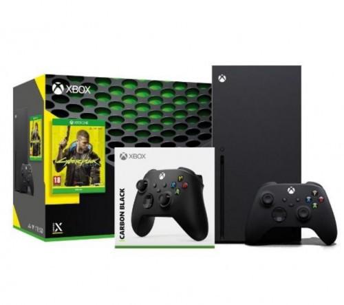 Promocja na Xbox Series X + Cyberpunk 2077 + dodatkowy pad