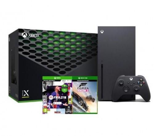 Xbox Series X + FIFA 21 + Forza Horizon 3