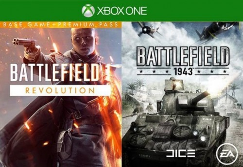 Promocja na Battlefield 1 Revolution Inc. Battlefield 1943 Xbox One