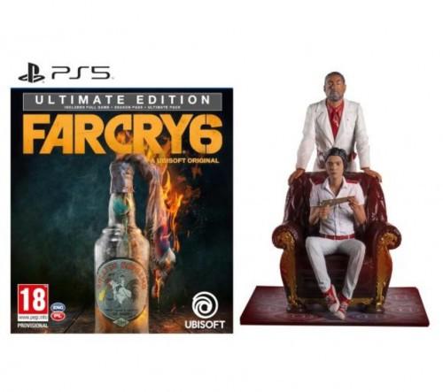 Promocja na Far Cry 6 - Edycja Ultimate + figurka PS5