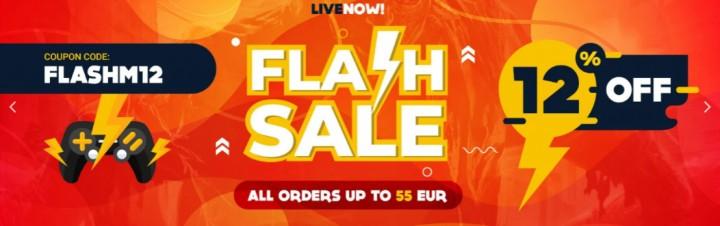 Flash Sale GAMIVO Maj
