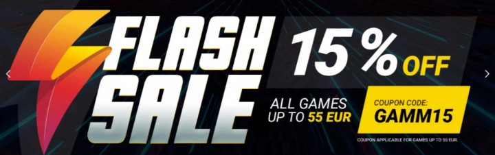 GAMIVO Flash Sale GAMM15