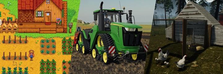 Gry rolnicze i symulatory farmy
