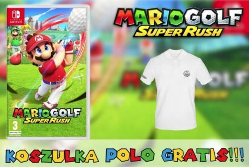 Mario Golf Super Rush NS Switch + Bluzka Polo