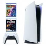 PlayStation 5 + Ratchet & Clank Rift Apart + Marvel
