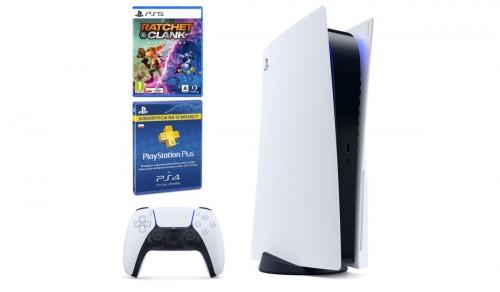 PlayStation 5 + Ratchet & Clank: Rift Apart + Playstation Plus 365