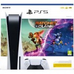 PlayStation 5 z grą Ratchet & Clank: Rift Apart