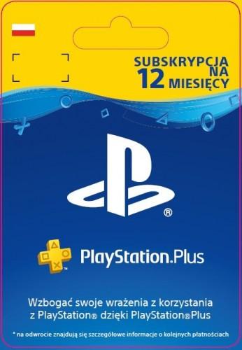 Promocja na 12 miesięcy PlayStation Plus