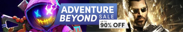Wyprzedaż Adventure Beyond Sale w Humble Store