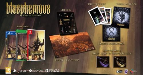 Promocja na Blasphemous Deluxe Edition