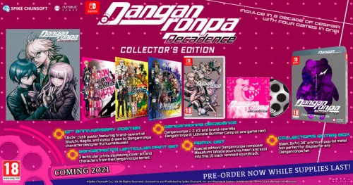 Promocja na Danganronpa Decadence