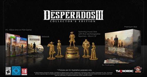Promocja na Desperados 3 Edycja Kolekcjonerska