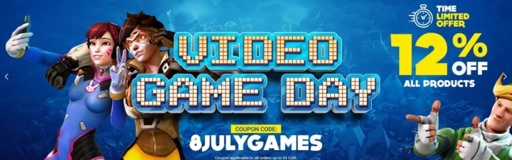 GAMIVO Video Game Day