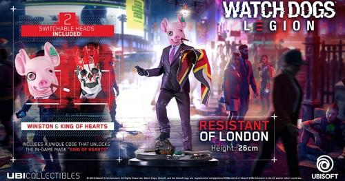 Promocja na figurkę Resistant Of London