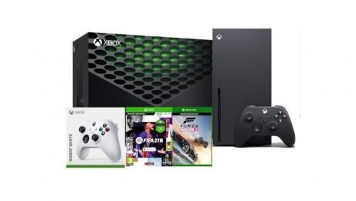 Promocja na Xbox Series X + FIFA 21 + Forza Horizon 3 + dodatkowy pad (biały)