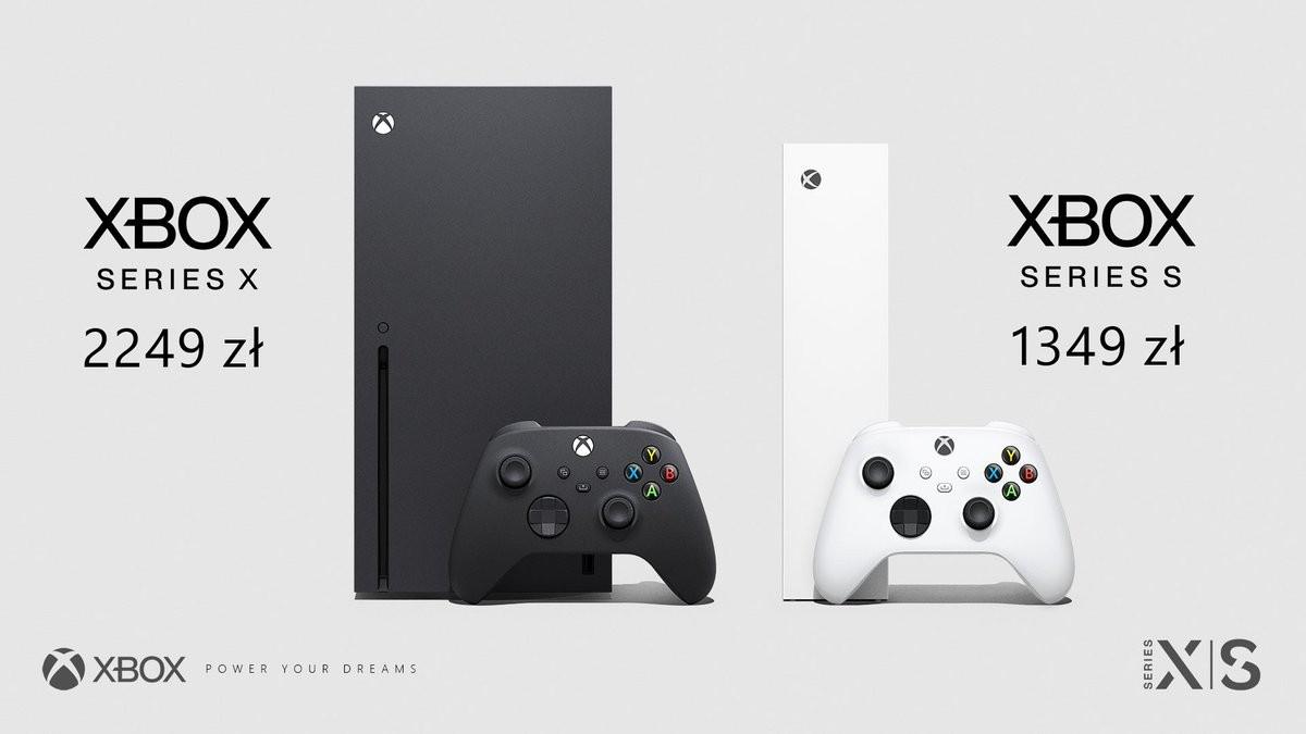 Cena konsol Xbox Series