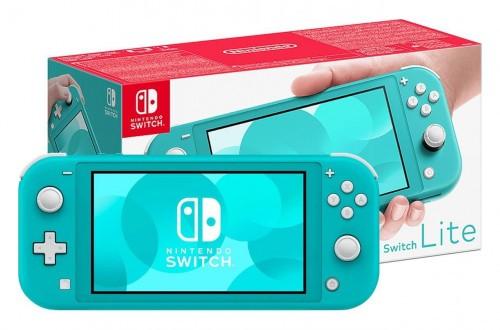 Promocja na Nintendo Switch Lite Turquoise