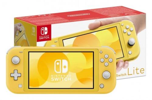 Promocja na Nintendo Switch Lite Yellow