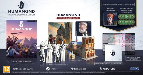 Promocja na Humankind Deluxe Edition