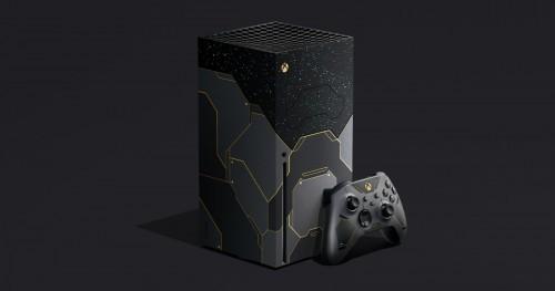 Promocja na Konsola Xbox Series X w limitowanej edycji Halo Infinite