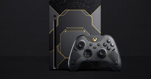 Konsola Xbox Series X w limitowanej edycji Halo Infinite