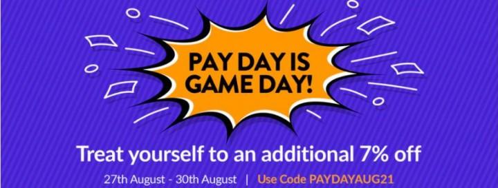 Promocja Pay Day Fanatical