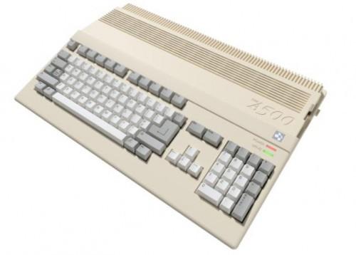 Promocja na Amiga 500 Mini