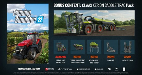 Promocja na Farming Simulator 22
