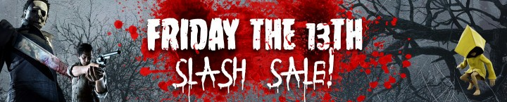 Wyprzedaż Friday the 13th Slash Sale w CDKeys