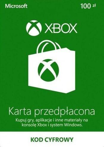 Promocja na giftcard 100 PLN do Xbox Store