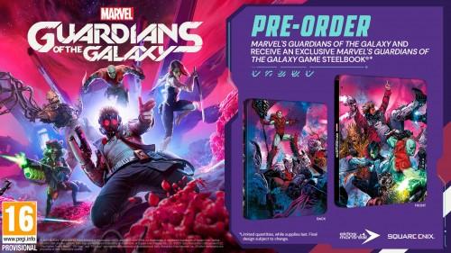Promocja na Marvel's Guardians of the Galaxy Steelbook