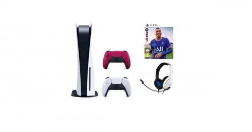 PS5_FIFA22_czerwony pad