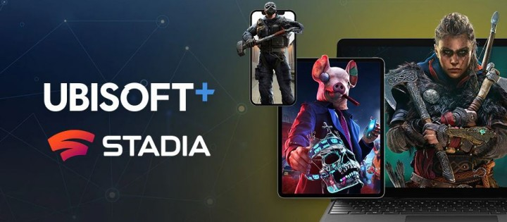 Ubisoft+ na Google Stadia