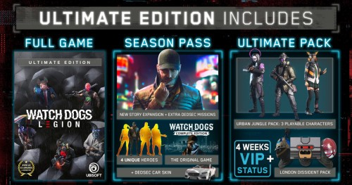 Promocja na Watch Dogs Legion Ultimate Edition