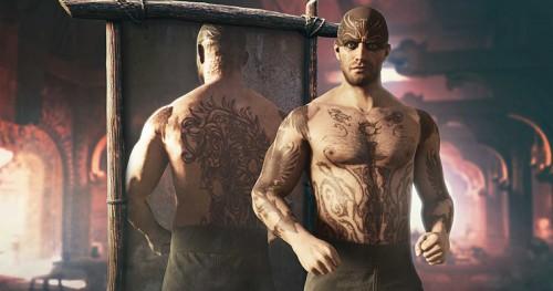 Zestaw tatuaży Błogosławieństwo Odyna