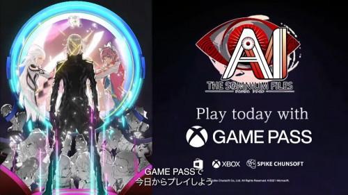 AI: The Somnium Files w Xbox Game Pass