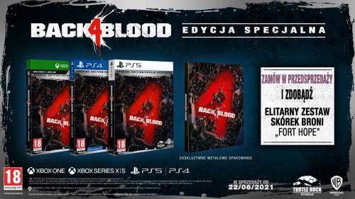 Promocja na Back 4 Blood
