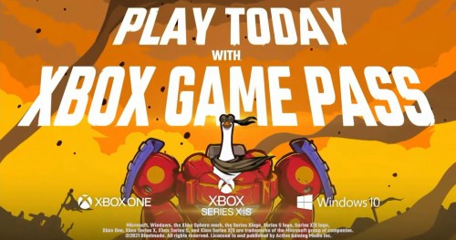 Mighty Goose w Xbox Game Pass