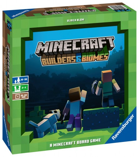 Promocja na grę planszową Minecraft