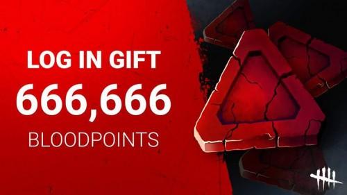 Dead by Daylight 666,666 Blood Points