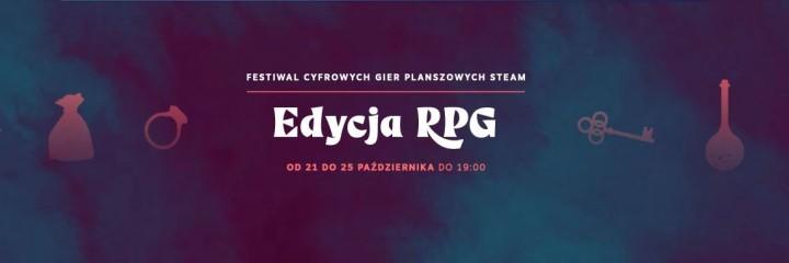 Festiwal Cyfrowych Gier Planszowych Steam - Edycja RPG