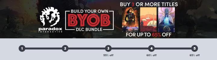 Paradox Build Your Own DLC Bundle