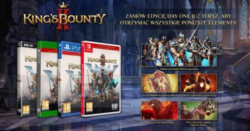 Promocja na King's Bounty II Day One Edition