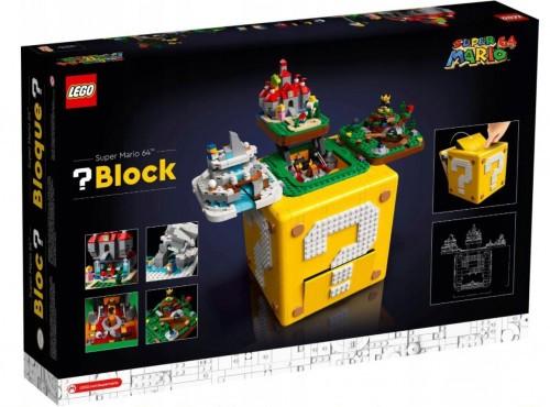 Promocja na LEGO Pytajnikowy blok Super Mario 64