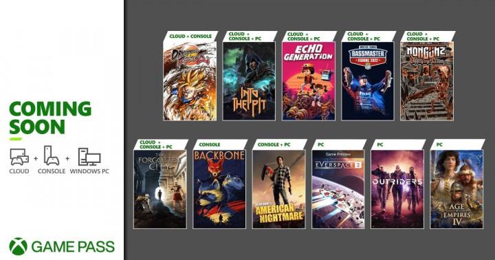 Oferta Xbox Game Pass Październik 2021